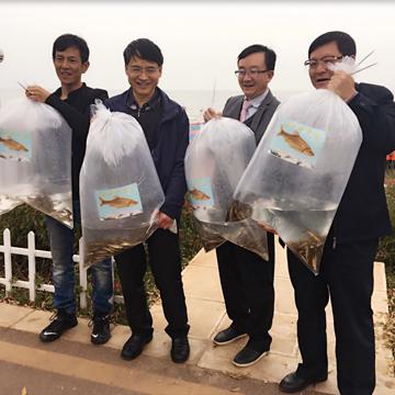 金線魚增殖流放活動